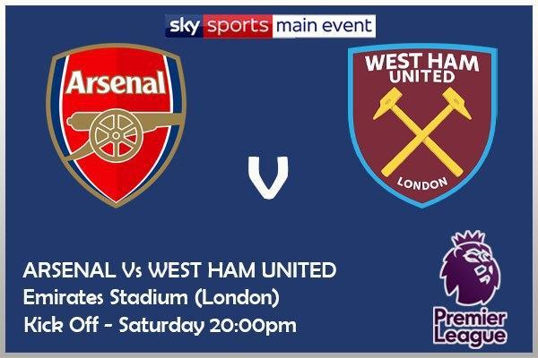 Arsenal v West Ham - Sky Sports Main Event
