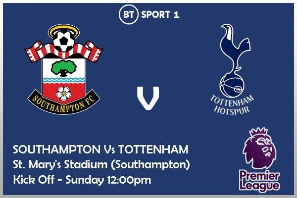 Southampton v Tottenham - BT Sport 1