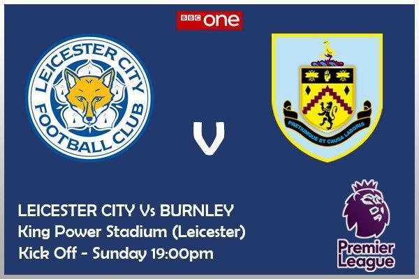 Leicester City v Burnley - BBC ONE