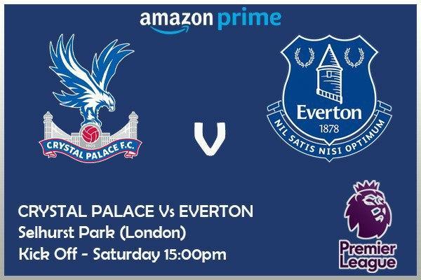 Premier League - 26/9/2020 - Crystal Palace v Everton