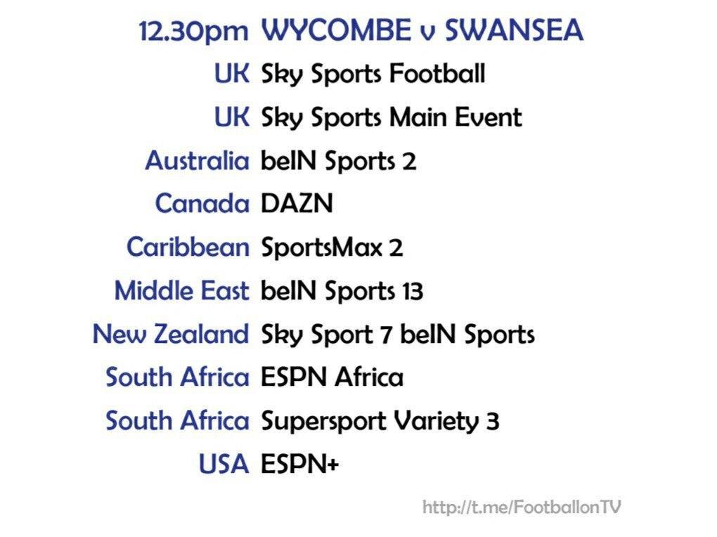 Championship 26/9/2020 - Wycombe v Swansea