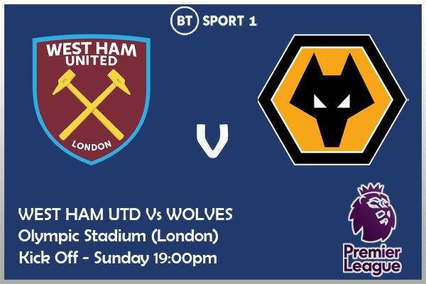 Premier League 27/9/2020 - West Ham v Wolves