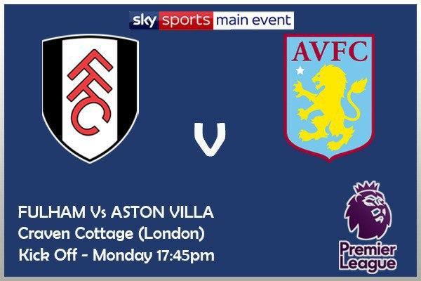 Premier League 28/9/20 - Fulham v Aston Villa