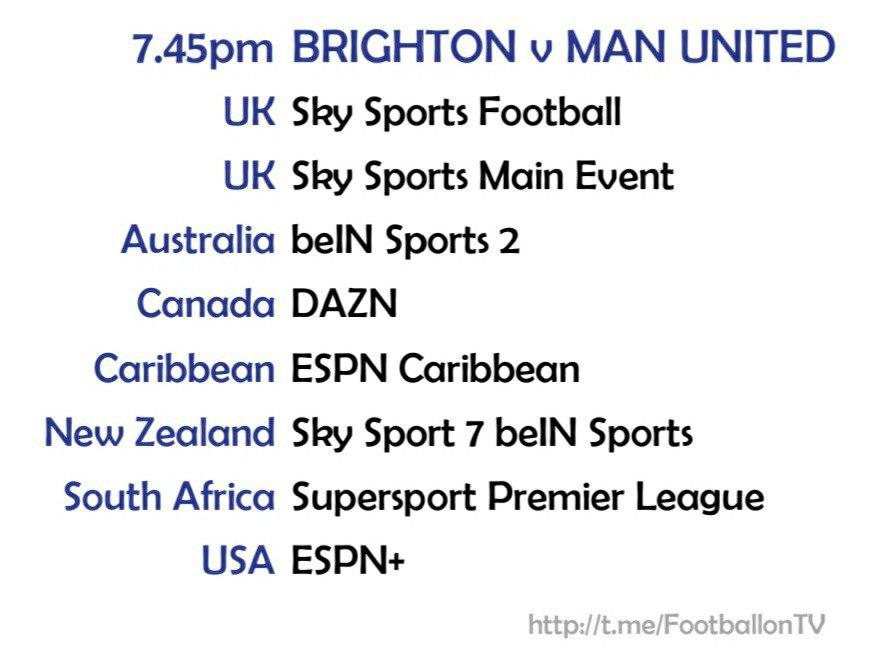 Carabao Cup 30/9/20 Brighton v Manchester United