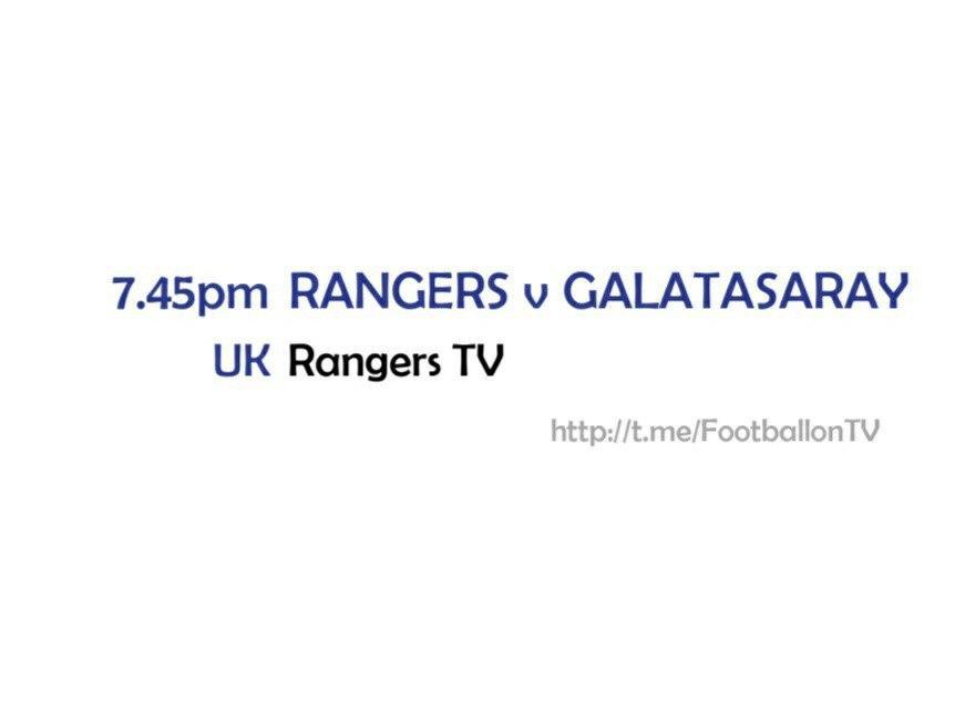 Europa League - Scottish Fixtures - Rangers