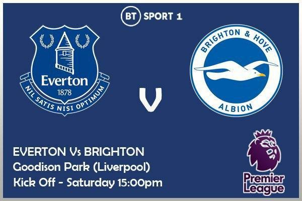 Premier League 3/10/20 Everton v Brighton Hove Albion