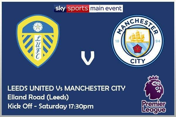 Premier League 3/10/20 Leeds v Manchester City