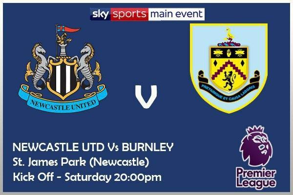 Premier League 3/10/20 Newcastle v Burnley