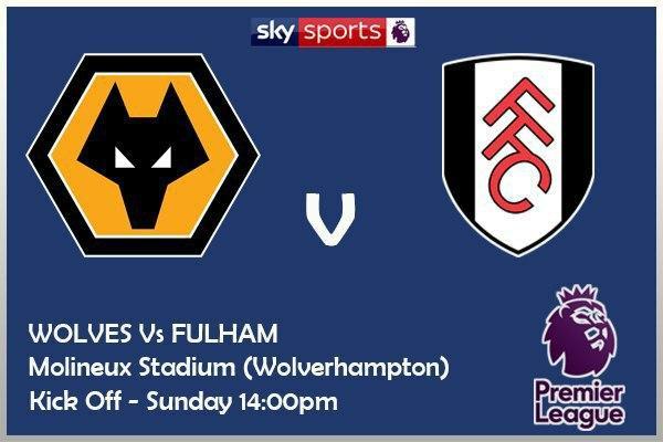 Premier League 4/10/20 Wolverhampton Wanderers v Fulham City