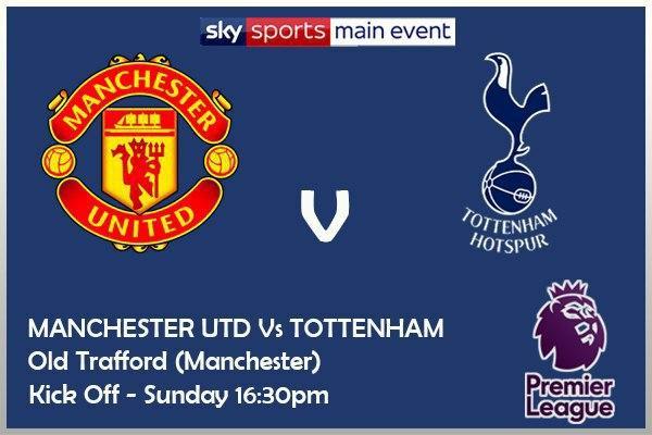 Premier League 4/10/20 Manchester United v Tottenham