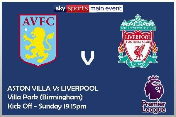 Premier League 4/10/20 Aston Villa v Liverpool