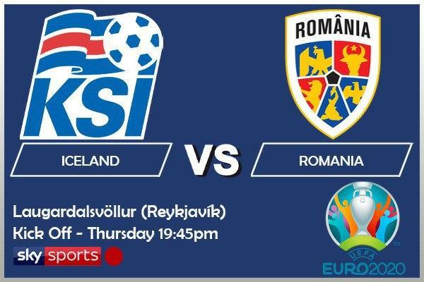 EURO 2020 fixtures - Iceland v Romania