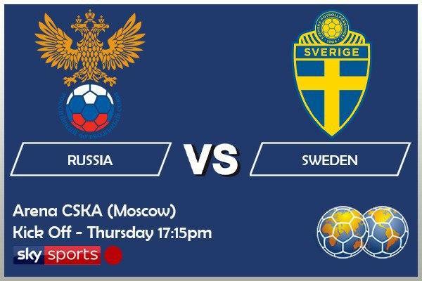 International Friendlies - Russia v Sweden