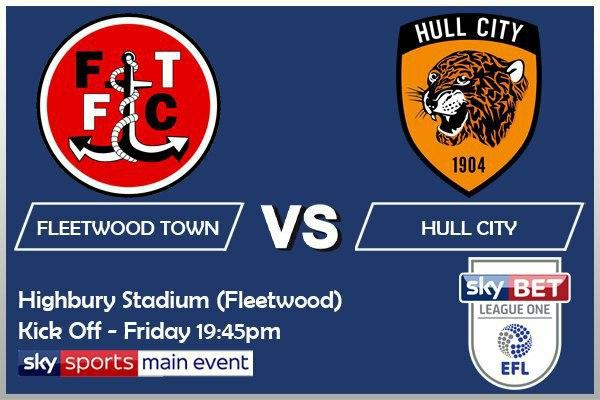 Sky Bet League Two - Fleetwood Town v Hull City