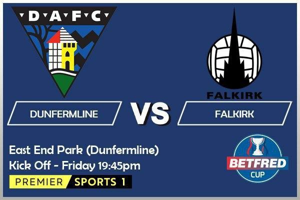 Betfred Cup - Dunfermline v Falkirk