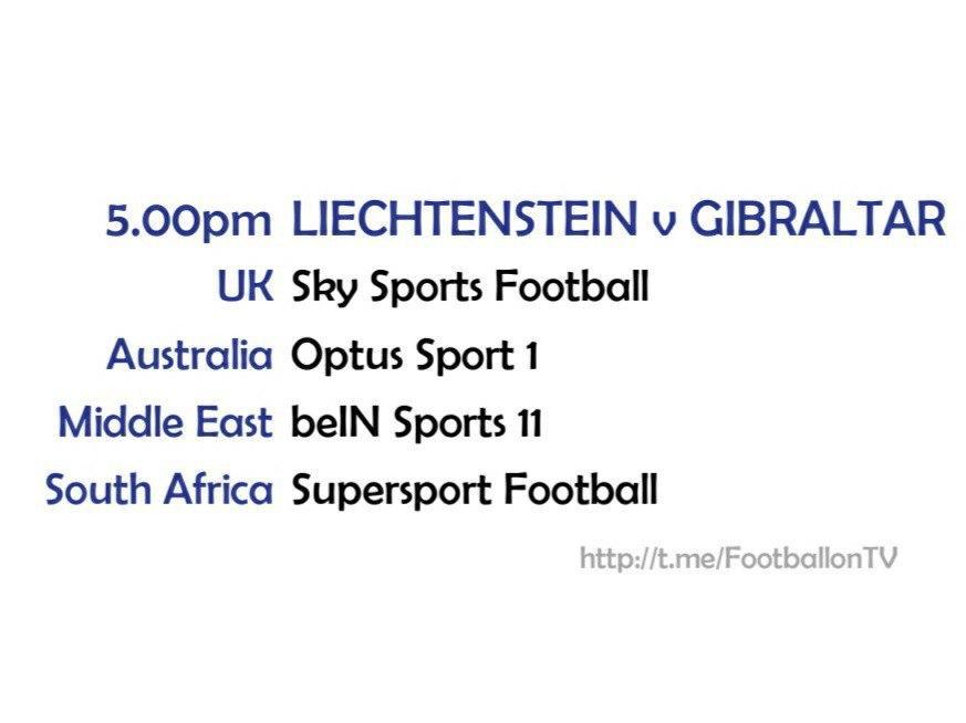 UEFA Nations League 10/10/20 - Liechtenstein v Gibraltar