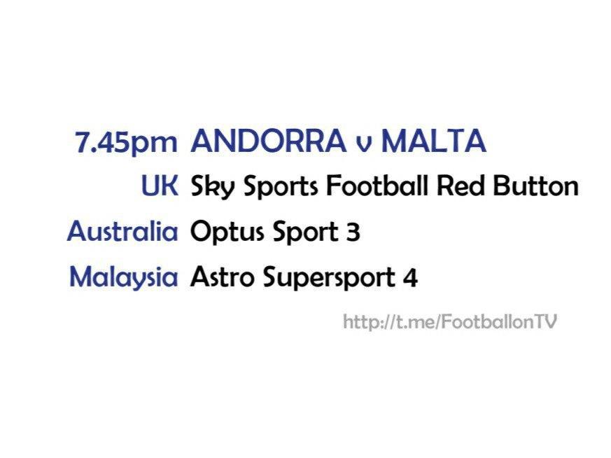 UEFA Nations League 10/10/20 - Andorra v Malta