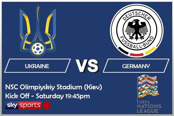 UEFA Nations League 10/10/20 - Ukraine v Germany