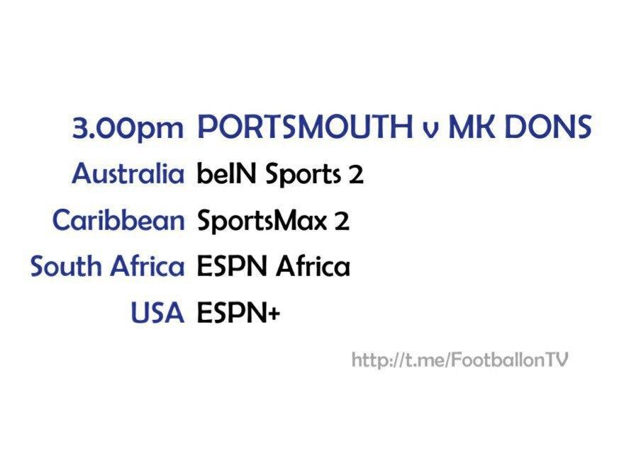 Sky Bet League One - Portsmouth v MK Dons