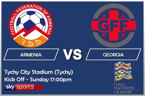 UEFA Nations League 11-10-20 - Armenia v Georgia