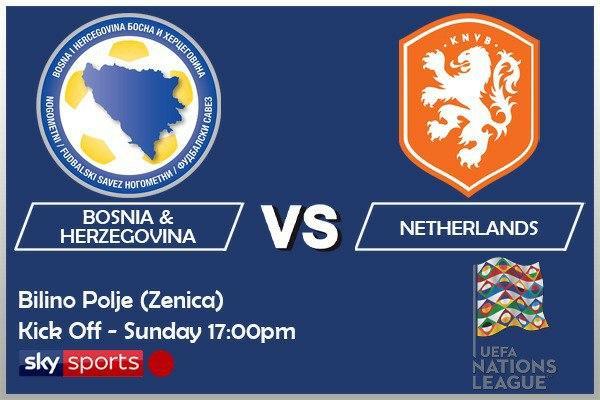 UEFA Nations League 11-10-20 - Bosnia & Herzegovina v Netherlands