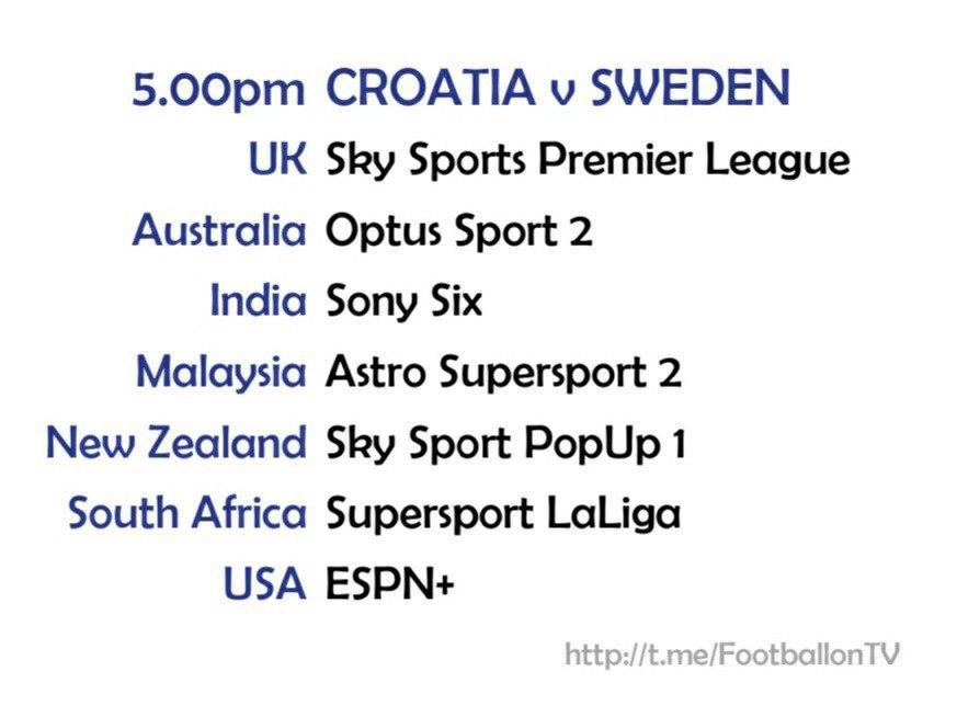 UEFA Nations League 11-10-20 - Croatia v Sweden
