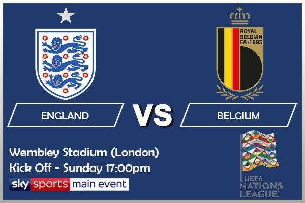 UEFA Nations League 11-10-20 - England v Belgium