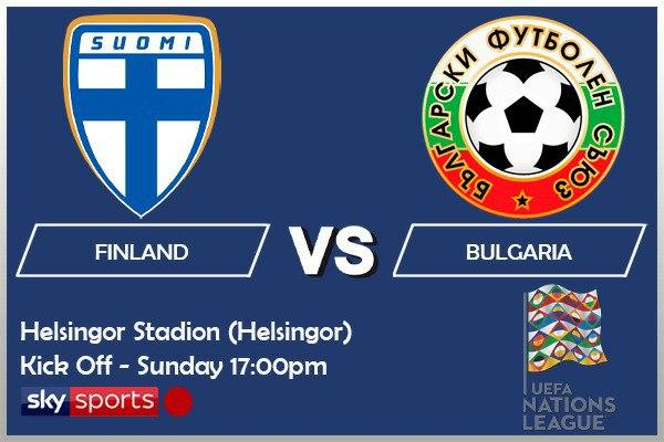 UEFA Nations League 11-10-20 - Finland v Bulgaria