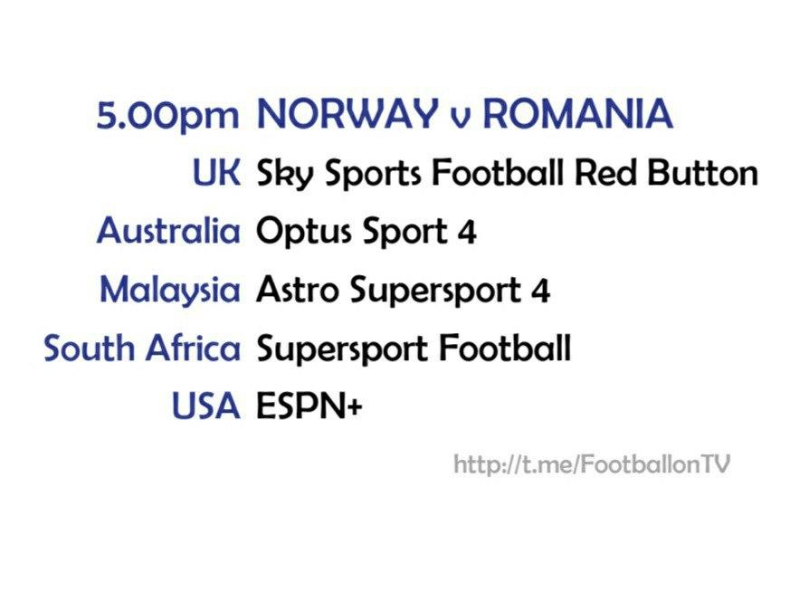 UEFA Nations League 11-10-20 - Norway v Romania