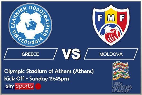 UEFA Nations League 11-10-20 - Greece v Moldova