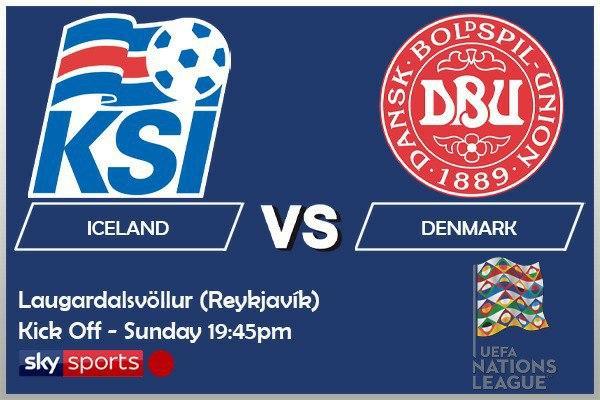 UEFA Nations League 11-10-20 - Iceland v Denmark