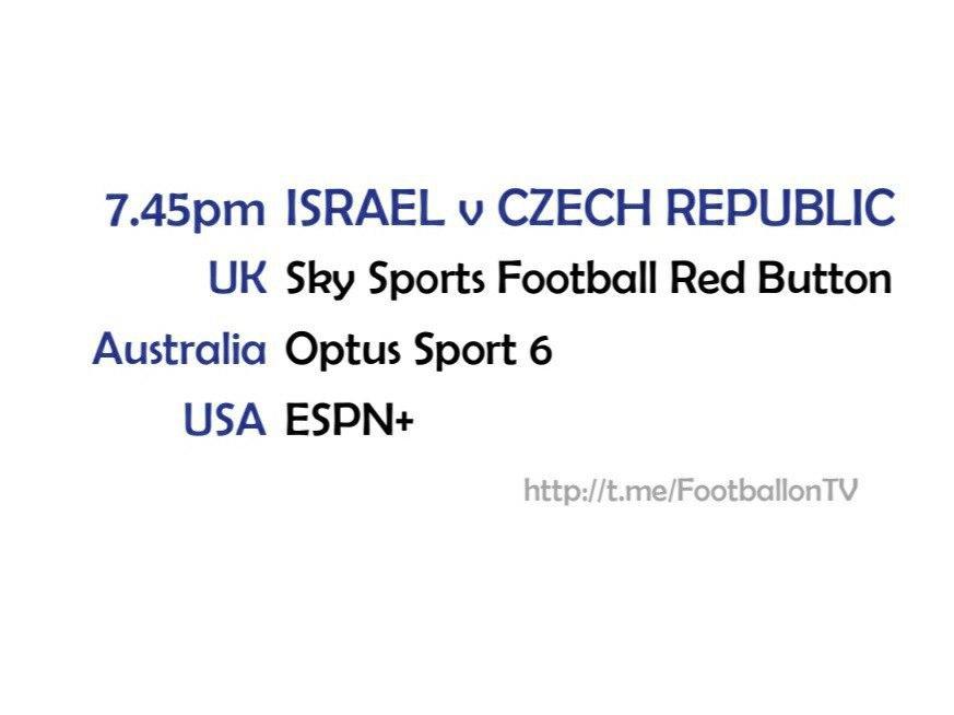 UEFA Nations League 11-10-20 - Israel v Czech Republic