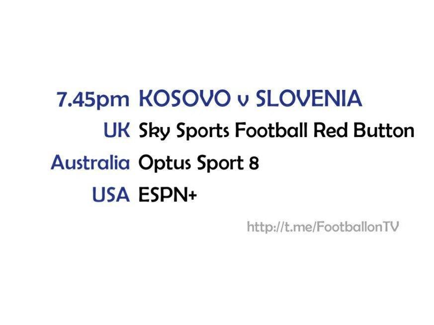 UEFA Nations League 11-10-20 - Kosova v Slovenia
