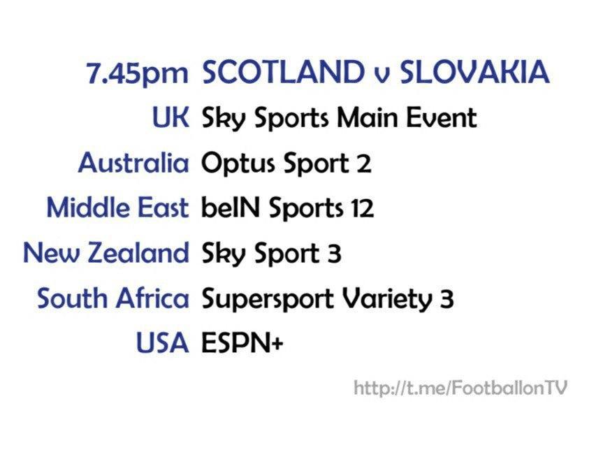 UEFA Nations League 11-10-20 - Scotland v Slovakia