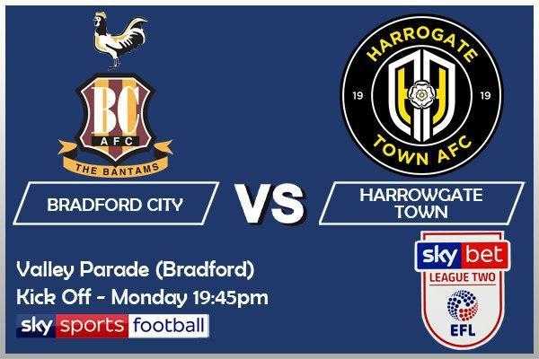 League Two - 12-10-20 - Bradford City v Harrowgate Town