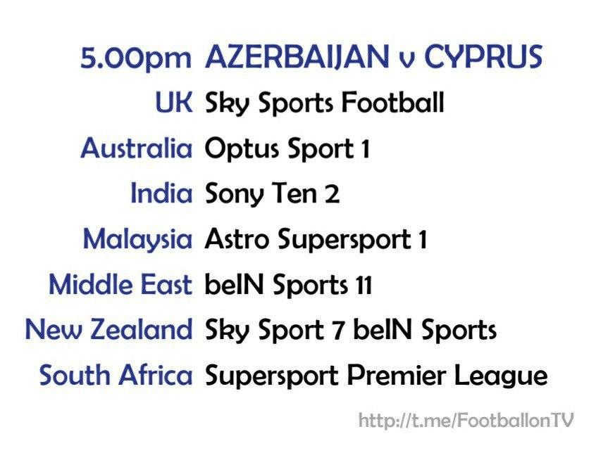 UEFA Nations League 13-10-20 Azerbaijan v Cyprus