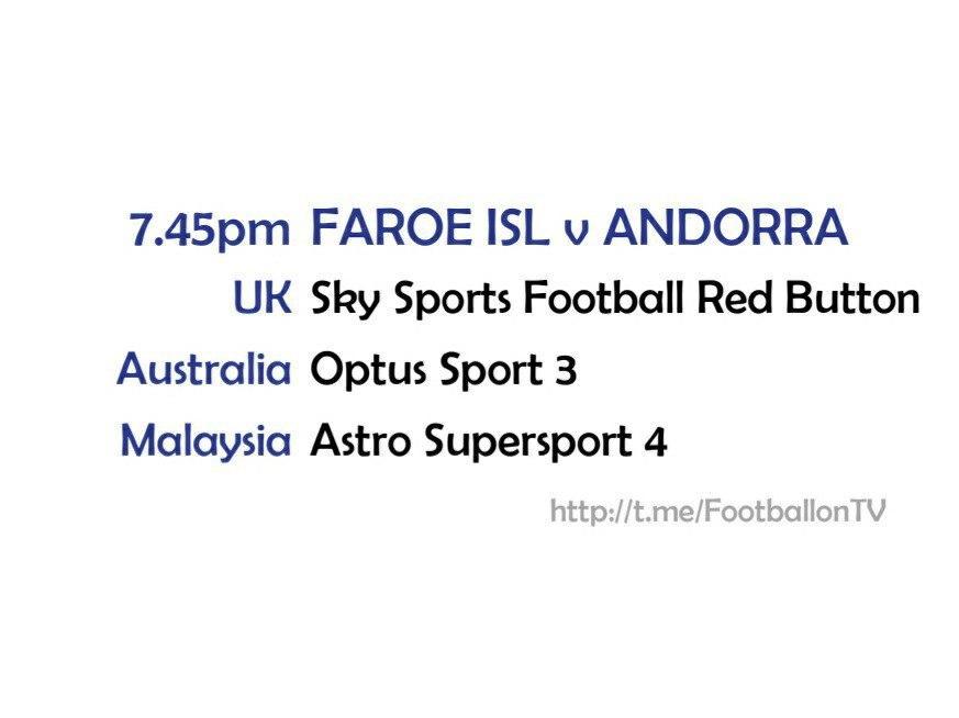 UEFA Nations League 13-10-20 Faroe Islands v Andorra