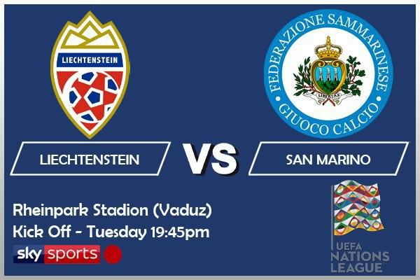 UEFA Nations League 13-10-20 Liechtenstein v San Marino