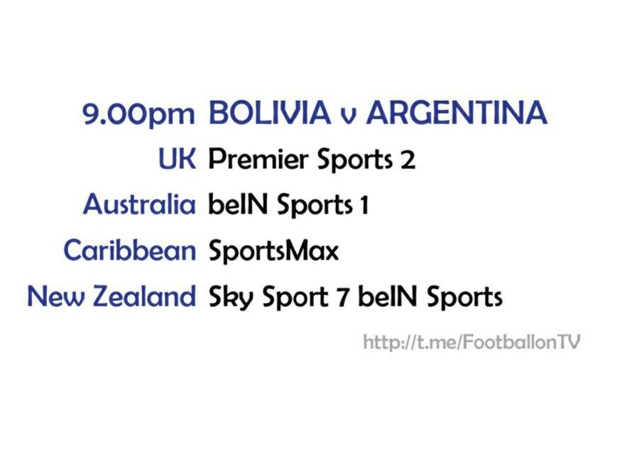 FIFA World Cup 2022 Qualifiers - Bolivia v Argentina