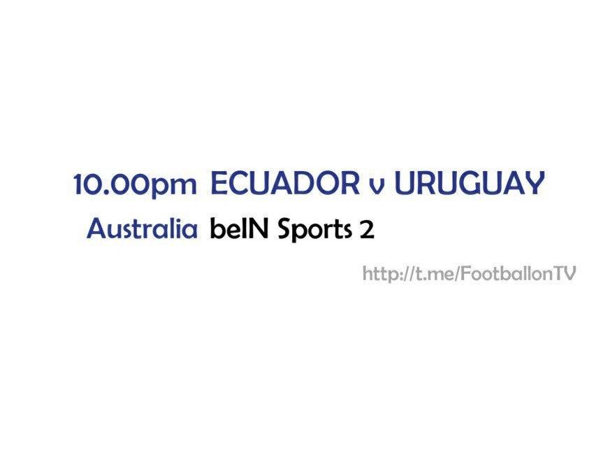 FIFA World Cup 2022 Qualifiers - Ecuador v Uruguay