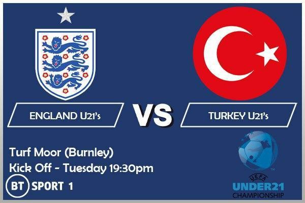 UEFA U-21 Championship - England U21 v Turkey U21