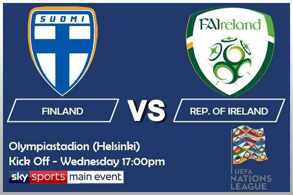UEFA Nations League 14-10-20 - Finland v Republic of Ireland