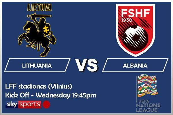 UEFA Nations League 14-10-20 - Lithuania v Albania