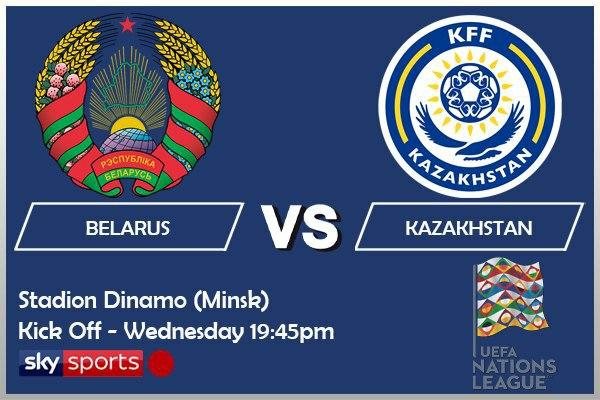 UEFA Nations League 14-10-20 - Belarus v Kazakhstan