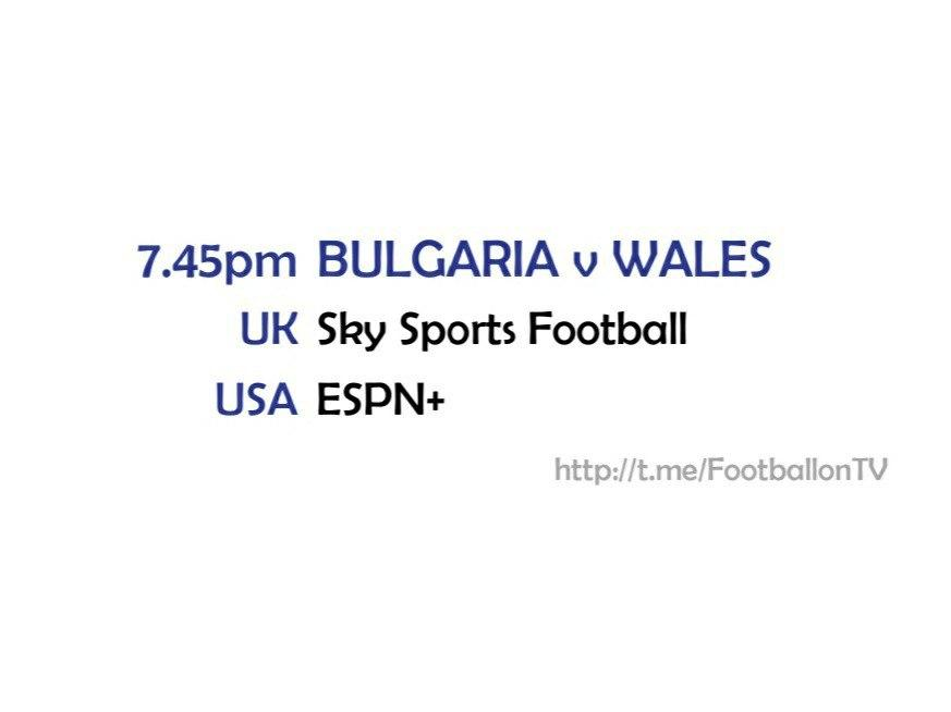 UEFA Nations League 14-10-20 - Bulgaria v Wales