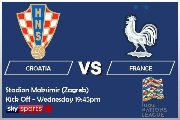UEFA Nations League 14-10-20 - Croatia v France