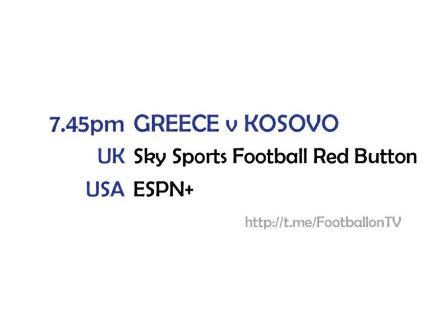 UEFA Nations League 14-10-20 - Greece v Kosovo