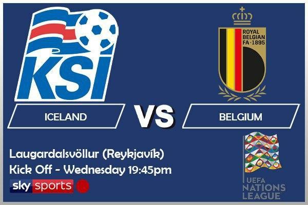 UEFA Nations League 14-10-20 - Iceland v Belgium