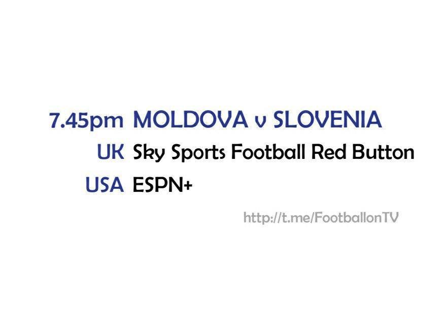 UEFA Nations League 14-10-20 - Moldova v Slovenia