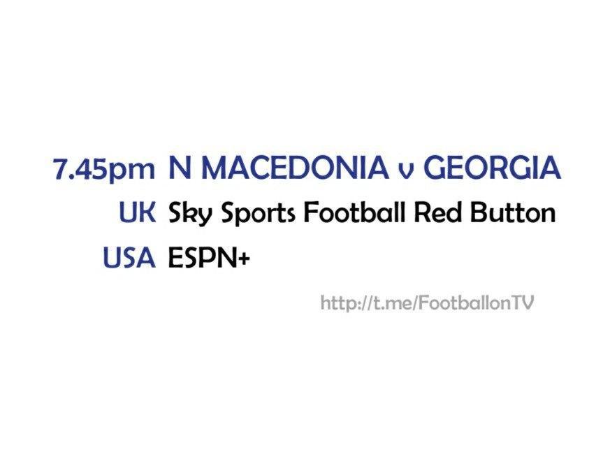 UEFA Nations League 14-10-20 - North Macedonia v Georgia